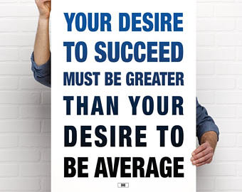 Desire to Succeed